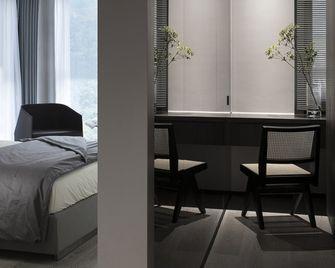 140平米三室两厅现代简约风格书房装修图片大全