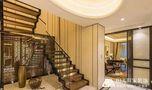 20万以上140平米复式混搭风格楼梯装修图片大全