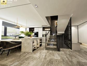 140平米三室两厅现代简约风格阁楼欣赏图