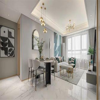 90平米三室一厅混搭风格餐厅图片