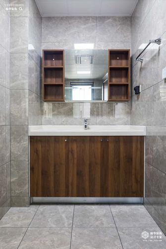 90平米一室两厅中式风格卫生间装修案例