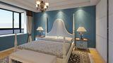 140平米四地中海风格卧室装修图片大全