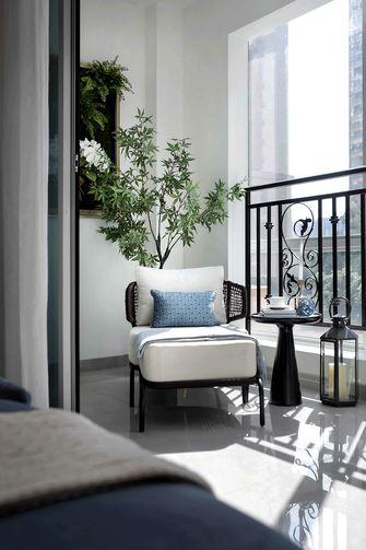 80平米三室两厅地中海风格阳台欣赏图