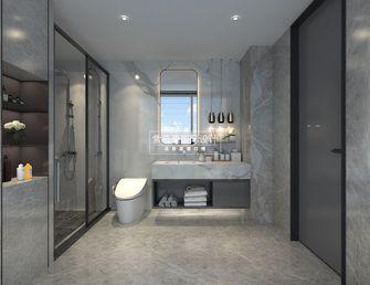 140平米复式现代简约风格卫生间设计图