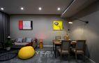 富裕型90平米现代简约风格客厅图片