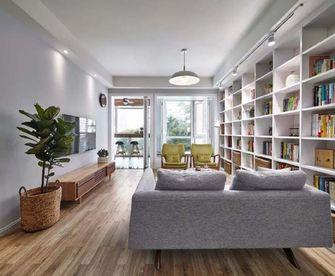 100平米三室两厅日式风格客厅欣赏图