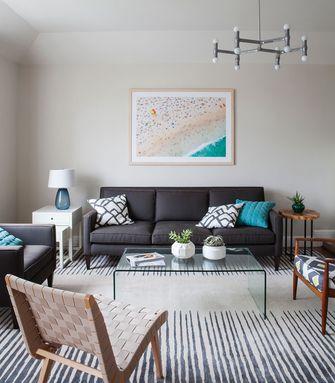 120平米三室两厅现代简约风格客厅欣赏图