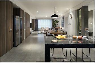 120平米三室两厅混搭风格餐厅设计图