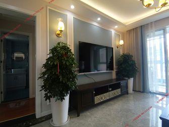 120平米三室两厅美式风格客厅设计图