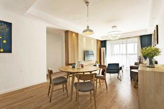 80平米日式风格餐厅家具设计图