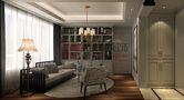 140平米三室两厅欧式风格书房沙发图片