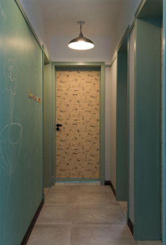 80平米三室两厅混搭风格走廊图