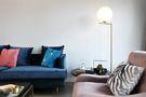 110平米三室三厅混搭风格客厅图片