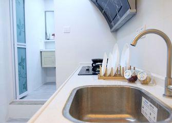70平米三室两厅北欧风格厨房图片大全