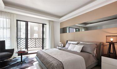 80平米英伦风格卧室装修效果图