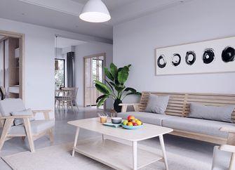 90平米一室一厅日式风格客厅效果图