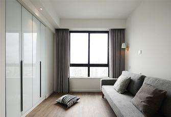 110平米三室一厅混搭风格衣帽间设计图