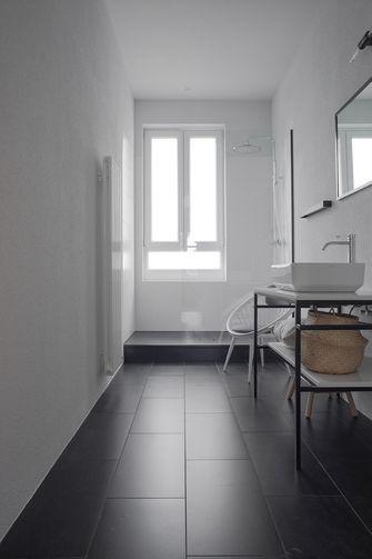 140平米四室四厅混搭风格卫生间欣赏图