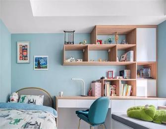 140平米三室一厅中式风格儿童房图