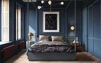 70平米公寓英伦风格卧室图片