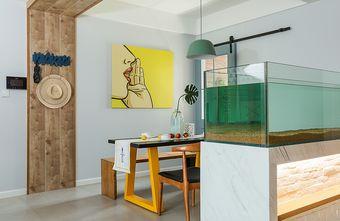 60平米地中海风格餐厅设计图