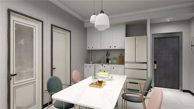 100平米三室三厅美式风格餐厅装修效果图