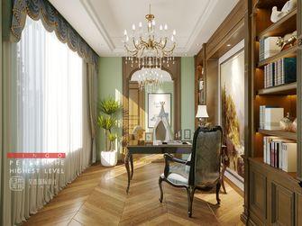 140平米四室四厅欧式风格书房效果图