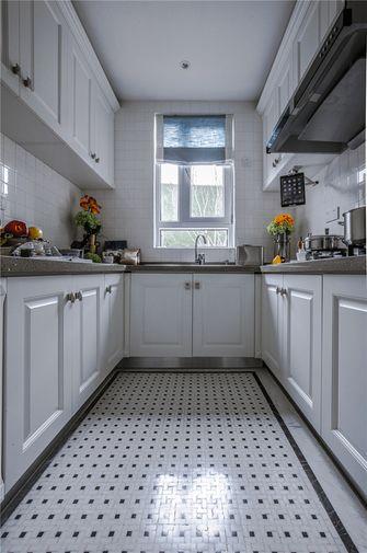 富裕型140平米四室四厅法式风格厨房图