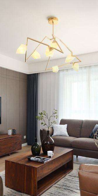 130平米三室五厅北欧风格客厅欣赏图