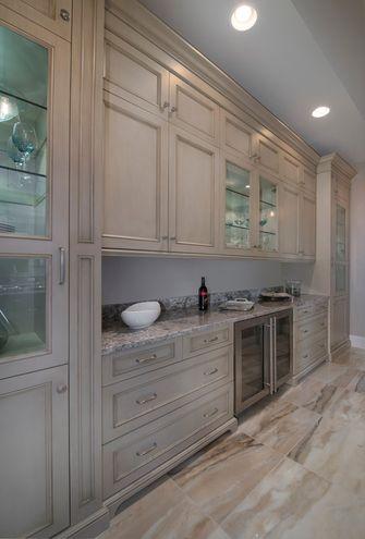 120平米三地中海风格厨房装修效果图