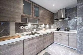 110平米三现代简约风格厨房图片大全