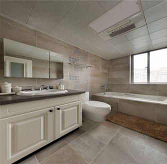 90平米三室两厅美式风格卫生间效果图
