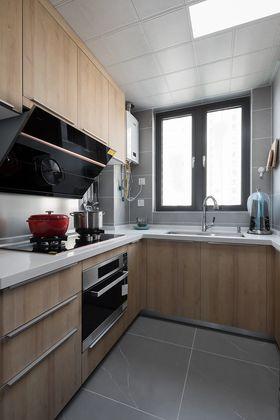 110平米三室兩廳日式風格廚房裝修圖片大全