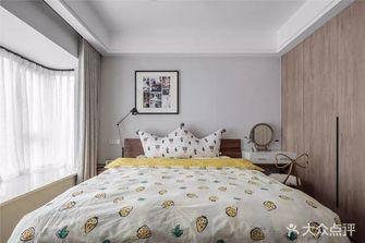 110平米三室一厅北欧风格卧室图