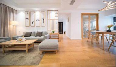 130平米四日式风格客厅图