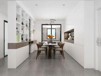 110平米三室两厅混搭风格餐厅图片大全