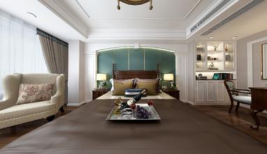 140平米三室一厅美式风格卧室图片