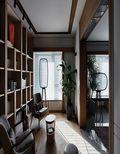 130平米三室一厅现代简约风格阳光房设计图