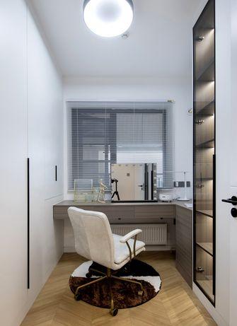 100平米三室两厅北欧风格衣帽间装修效果图