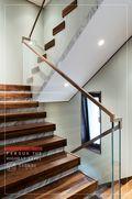 140平米别墅美式风格楼梯间效果图