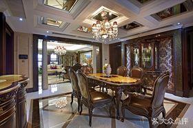 140平米三室兩廳新古典風格餐廳裝修圖片大全