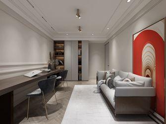 140平米三室两厅日式风格书房图片