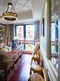 20万以上140平米四室两厅混搭风格书房图片大全