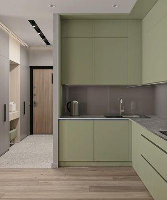 70平米一居室现代简约风格厨房欣赏图