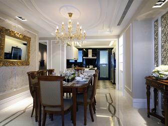 130平米四室两厅地中海风格餐厅装修案例