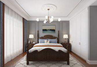 90平米三室三厅美式风格卧室图