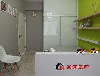 5-10万130平米三室两厅英伦风格儿童房装修效果图