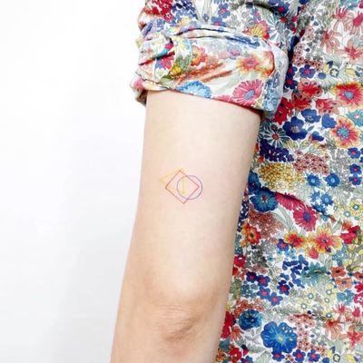 手臂纹身款式图
