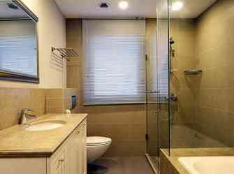 140平米别墅北欧风格卫生间装修效果图