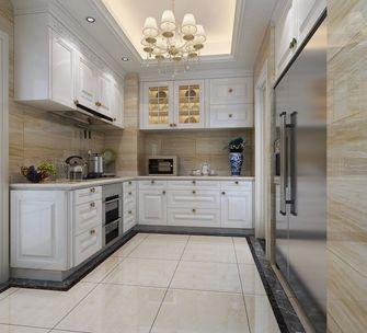 130平米四欧式风格厨房欣赏图